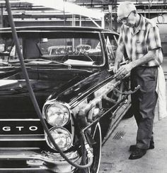 old car factories — 1963 Impala SS body drop 1965 Gto, 1965 Pontiac Gto, Pontiac Cars, Retro Cars, Vintage Cars, Antique Cars, Vintage Iron, Pt Cruiser, Chevrolet Chevelle