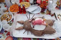 Torta Totoro (primo tentativo)