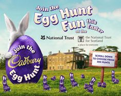 Let family & friends know what you're doing this Easter so that they can join in the fun
