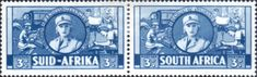 South Africa 1941 War Effort Set Fine Mint SG 88 - 96 Scott 81 - 89 Condition Fine MNH Set Has 7 Horizontal pairs and 2 singlesOnly one post