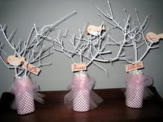 love these centerpieces!