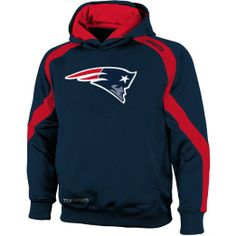 Amazon.com: New England Patriots Youth NFL Gameday Performance Hooded Sweatshirt: Clothing