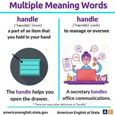 Multiple Meaning Words: Handle