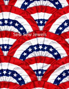 Old Glory Allover By Daisy Kingdom Sold By The Half Yard by HopesJewels on Etsy