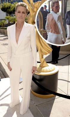 Robin Wright The back is everything!