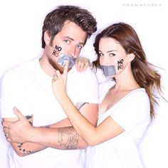 """""""Proud to be supporters! #NOH8 #equality @LeeDEWyze @jonnawalsh @NOH8Campaign"""""""