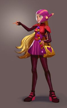 Can you believe this is fan art? Amazing work! #BigHero6 Honey Lemon