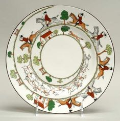 """Wedgwood """"Hunting Scene"""" China. I have some of these from England."""