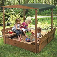 Canopy Sandbox - Bench Seats