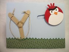 Angry Birds Party- slider invitation idea