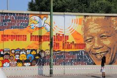 Ubuntu 2.0 - Wall commisioned by Milano Municipality for the 20 years of freedom in South Africa (2014)