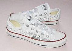 Adult Bling converse in your choice of color & por CurlyQsandTutus