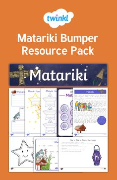 Matariki Bumper Resource Pack - all your needs! Paper Lanterns, Packing, Learning, School, Bag Packaging, Studying, Teaching, Paper Lantern, Onderwijs