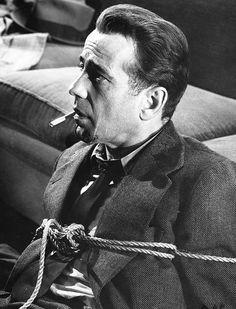 """Humphrey Bogart in """"The Big Sleep"""" (1946)"""