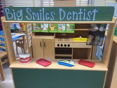 Dentist office dramatic play