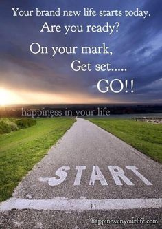It starts with just 1 step and the rest follows.  That first step is the hardest but it gets easier.