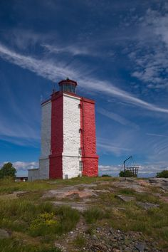 Utö lighthouse in Finland. I love this place and it's close to the home!