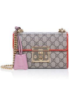 Gucci Padlock GG Supreme Shoulder Bag