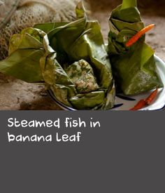 This is a classic Lao recipe for steamed fish in banana leaf. The marinade for the snapper is just amazing - a deeply fragrant blend of Asian herbs and spices. Look for any unfamiliar ingredients at Asian grocery stores. Fish Recipes, Asian Recipes, Laos Recipes, Steamer Clam Recipes, Fisher, Laos Food, Tilapia, Fish Dishes, Fish And Seafood