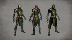 New Mortal Kombat X Concept Art Features Kitana, Reptile - IGN