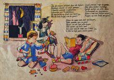 Het boek van Sinterklaas (image retravaillée avec PhotoFiltre)