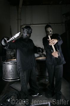 Clown and Chris (Percussion) <3