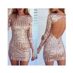 Rose Gold Sequin Mini New! Perfect New Years dress Plan ahead and get it now! Dresses Mini