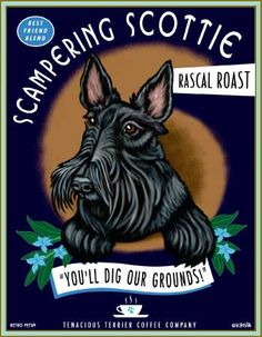 Scottish Terrier Art Print                                                                                                                                                                                 More
