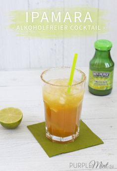 Sommer-Cocktail: Ipamara (alkoholfrei