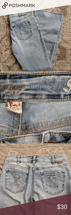 Silver jeans  Suki size 31 In excellent condition.  Size 31 Inseam 30  *Free from stains, rips, and frays *Comes from a smoke free home *Depending on time of purchase, items will be mailed out same or next day.  Thank you for looking! Silver Jeans Jeans Boot Cut
