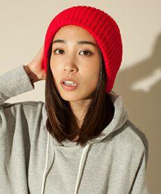 FF/カラーワッフルニット帽 http://zozo.jp/shop/nanouniverse/goods/2856852/?did=