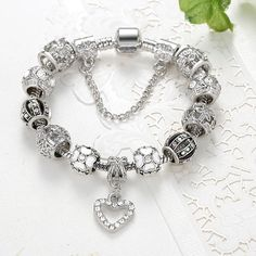 2016 High Quality Charms Beads fit pandora bracelet  Only $3.89 => Save up to 60% and Free Shipping => Order Now!  #Earrings #Rings #Handmade #Silver Jewelry #Pandora Bracelets #Nature Stone Jewelry #Jewelry #Necklaces #Bracelets