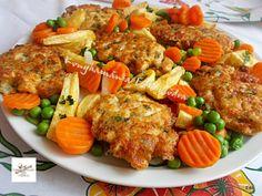 Egyszerű és gyors sajtos csirkemell Recept képpel - Mindmegette.hu - Receptek Real Food Recipes, Chicken Recipes, Yummy Food, Tasty, Healthy Recipes, Hungarian Recipes, Tandoori Chicken, Bacon, Food And Drink