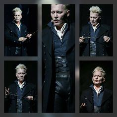 Johnny Depp Johnny Depp Characters, Johnny Depp Movies, Gellert Grindelwald, Crimes Of Grindelwald, Harry Potter Fan Art, Harry Potter Characters, Jervis Tetch, The Hollywood Vampires, Fantastic Beasts And Where