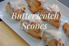 Hominy & Home: Recipe: Butterscotch Scones
