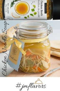 #jmflavors This easy homemade chicken noodle soup is the ultimate comfort meal. Takes 20 minutes to prepare #wellseasoned #chickennoodlesoup #yycfood #epiclife #comfortfood #madeeasy