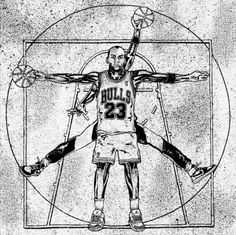 vitruvian basketball player...create showing something about  you...