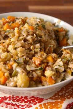 Cauliflower Stuffing - Delish.com (skip the carrots for low carb)