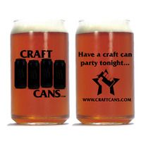 Special Edition CraftCans.Com Pint-Shaped glass. An ode to my angry youth. http://craftcans.storenvy.com/products/4719601-special-edition-craftcans-com-glass