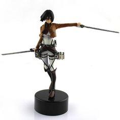 Mikasa PVC Figure Figurine Gift Attack On Titan Toys