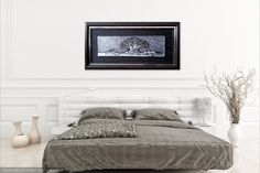 Dark Feather Canvas Print / Canvas Art by Priscilla Batzell Expressionist Art Studio Fine Art Photo, Photo Art, Black And White Artwork, France Photography, Canvas Home, Large Wall Art, Small Art, Large Canvas, Oil On Canvas
