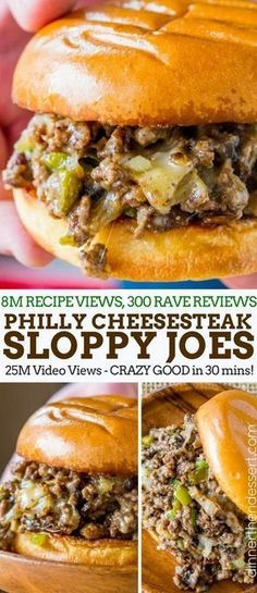 Philly Cheese Steak Sloppy Joes will make you forget your childhood canned sauce memories and make you LOVE sloppy joes again. Philly Cheese Steak Sloppy Joes will make you forget your childhood canned sauce memories and make you LOVE sloppy joes again. Philly Cheese Steaks, Philly Cheese Steak Seasoning, Grilled Cheese Sloppy Joe, Grilled Cheeses, Philly Cheese Sauce Recipe, Cheese Recipes, Philly Cream Cheese, Grilled Meat, Steak Sandwich Recipes