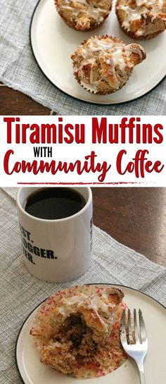 Tiramisu Muffins Recipe using Community Coffee #AD #HEBCommunityCoffee | SensiblySara.com