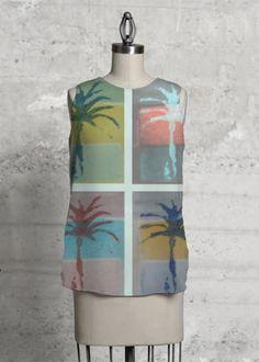 Sleeveless Top Mallorca designed by Vanesa Mateu
