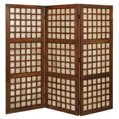 This Screen Gems Capice Square room dividers design includes both scallop and post accents. Each piece is an antique One-Of-A-Kind. window frame from the Philippines. with unique small variations in height. width and coloration. Decorative Room Dividers, Folding Room Dividers, Decorative Screens, Antique Window Frames, Antique Windows, Vintage Windows, Floor Screen, Bahay Kubo, Shoji Screen