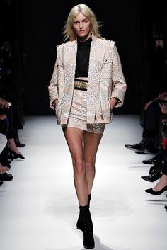 Balmain Fall 2012 Ready-to-Wear Fashion Show - Anja Rubik