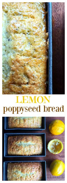 Lemon Poppyseed Bread for Easter breakfast or brunch