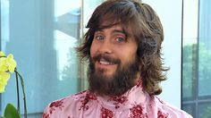 """In part one of our interview with Jared Leto, the Oscar-winning actor reveals he hasn't seen the trailer for his upcoming sci-fi sequel """"Blade Runner 2049"""", which he stars in alongside Harrison Ford and Ryan Gosling -- two actors he had a great time working with. Plus, Leto talks his new album and tour with his band, Thirty Seconds To Mars."""