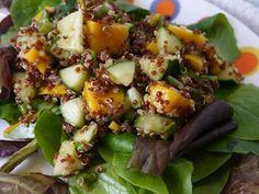 Clockwatching Tart: Curried Quinoa Mango Salad