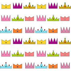 MeinLilaPark – DIY printables and downloads: Free digital crown scrapbooking paper - Three King...